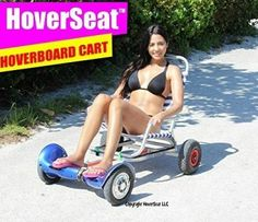 Patent Pending Cart Attachment HoverSeat let you to ride self-balancing electric scooter hoverboard while sitting instead of standing. Sup Paddle Board, Inflatable Kayak, Kayak Adventures, Thing 1, Mode Of Transport, Dinghy, Go Kart, More Fun, Kayaking