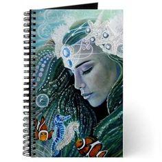 Serenity Mermaid - Journal by Michaeline McDonald.