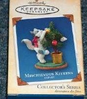 2013 Hallmark Member Exclusive Mischievous Kittens 15TH Anniversary Ornament