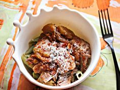 Slow-Cooker Pork Shoulder With Tomatoes, Fennel, and Pasta