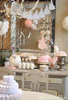 Dear Lillie: Lillie's Pink Cinderella Party and Some New Products