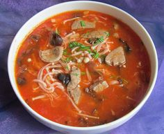 Chinese Cuisine|Chinese Food Recipes: Pork Liver with Tomato Soup