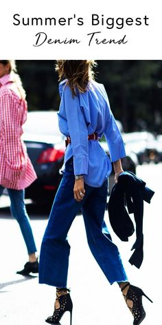 THIS is summer's biggest denim trend that it-girls and street style stars all over are going crazy for. Do you own a pair of these jeans?