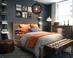 Top 70 Best Teen Boy Bedroom Ideas - Cool Designs For Teenagers Boys Bedroom Decor, Trendy Bedroom, Bedroom Colors, Bedroom Ideas, Design Bedroom, Teen Boys Room Decor, Bedroom Rustic, Bedroom Small, Bedroom Modern
