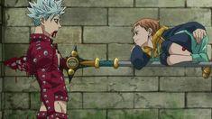 Seven Deadly Sins Anime, 7 Deadly Sins, Anime Boys, Otaku Anime, Anime Art, Ban Anime, Photo Manga, Film Anime, Desenhos Gravity Falls