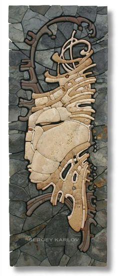 Easel mosaic - Sergey CHARLES