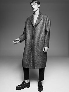 Janis Ancens Models Dramatic F/W 13 Shapes for T Magazine