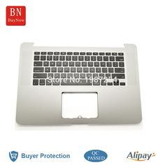 71.99$  Buy here - http://alix6l.worldwells.pw/go.php?t=32705332431 - Original New For Apple Macbook Pro Retina 15'' A1398 Top Case Palmrest With Keyboard US Version 2012 MC975 MC976