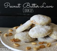 Peanut Butter Lava Cookies