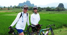 Bike trip to Elephant Camp - Private Tour. This tour combines two activities: biking and elephant riding. You will ride a bike through jungle and rice paddies, stop to visit villages