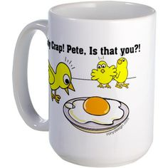 Holy Crap! Pete, is that you? Large Mug