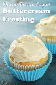 Dairy-Free Buttercream Frosting Recipe - an essential basic that's also vegan and allergy-friendly