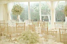 Gypsophila Wedding Centrepiece