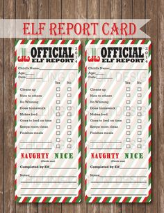 40 Fun & Creative Christmas Elf On The Shelf Printables | Glitter 'N' Spice