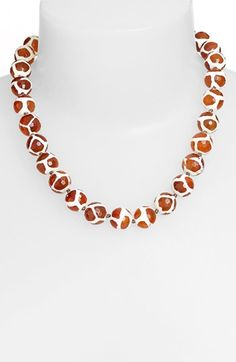 Simon Sebbag Stone Bead Necklace