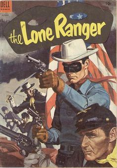 Dell The Lone Ranger 76 October 1954 Vintage Comic Western Comics, Jean Giraud, Vintage Comic Books, Vintage Comics, Serpieri, The Lone Ranger, Morris, Masked Man, Read Comics