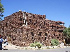 Hopi House - Designed by Mary Colter in 1905. South Rim Grand Canyon National Park
