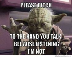 Yoda Call Me Maybe – Funny Pics, Memes & Captioned Pictures Memes Humor, Funny Memes, 9gag Funny, Funny Shit, The Funny, Funny Stuff, Georg Christoph Lichtenberg, Insta Memes, Star Wars Personajes