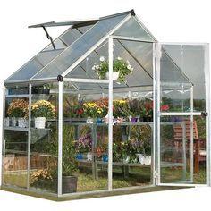 Walk In Greenhouse, Greenhouse Effect, Greenhouse Plans, Backyard Greenhouse, Portable Greenhouse, Greenhouse Frame, Greenhouse Academy, Cheap Greenhouse, Aquaponics System