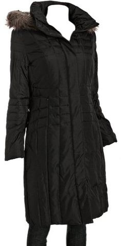 Calvin Klein Coat, Long Quilted Puffer Hooded Faux Fur Trim Down Size Medium - List price: $289.00 Price: $165.00 Saving: $124.00 (43%) + Free Shipping