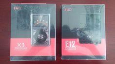 Brand New FiiO X3 128GB 2nd gen Music Player and FiiO E12 Amp #FiiO