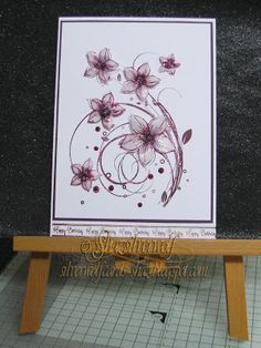 Silverwolf Cards.Stamp, Honey Doo Crafts, Sentiment Phill Martin Honey Doo Crafts, Crafts To Do, Paper Crafts, Birthday Cards For Women, Mothers Day Cards, Creative Cards, Flower Cards, Stampin Up Cards, Card Making