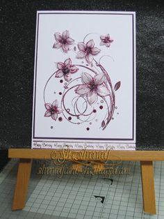 Silverwolf Cards.Stamp, Honey Doo Crafts, Sentiment Phill Martin