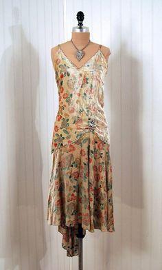1920's Antique 1920's Flapper Dress #Repin
