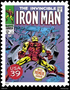 Iron Man stamp