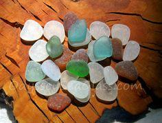 MISTY BREEZE 28 pc Sea Glass ~ Buy Teal, Powder Blue, Aqua ~ from the beach of tropical Peru HU-0024 by OdysseySeaGlass on Etsy