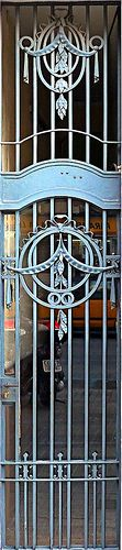 Art Nouveau Gate - Barcelona, Spain