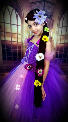 Check out this item in my Etsy shop https://www.etsy.com/listing/278343314/rapunzel-braid-with-flowers-and
