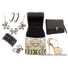 outfit, created by dlcate from Facebook: Your Time To Sparkle