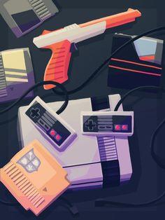 Nintendo Nostalgia Created by Scott Ulliman