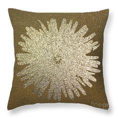 Golden Dandelion Throw Pillow by Sverre Andreas Fekjan. Our throw pillows are… Pillow Sale, Totally Awesome, Dandelion, Throw Pillows, Decoration, Prints, Image, Design, Decor