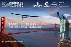 Solar Impulse is a #solar powered plane that can fly both day and night without other fuel. How cool is that?! http://www.solarimpulse.com   #solarpower