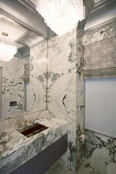 Marble Slab Bathroom Bathroom Pinterest Park Avenue And Marbles - Marble slab bathroom
