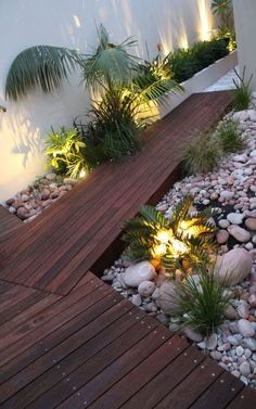 Night lighting on garden-Taken 2012 -