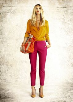 Even Mrs. FABULOSITY herself Kimora Lee Simmons talks about color blocking for spring on her blog!!!  Cute trend this summer!!