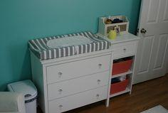 Project Nursery - love this dresser!
