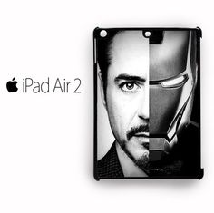 Tony STark Iron Man for custom case iPad Air 1/iPad Air 2