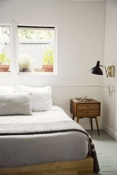 Mid-Century Nightstand from west elm — in Courtney Klein's SF home