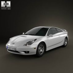 Toyota Celica GT-S 2006 3d model from humster3d.com. Price: $75