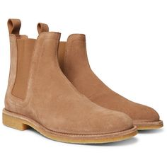 Bottega Veneta Suede Chelsea Boots (40,795 PHP) ❤ liked on Polyvore featuring men's fashion, men's shoes, men's boots, mens suede shoes, mens suede chelsea boots, bottega veneta mens boots, bottega veneta mens shoes and mens suede boots