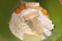 Příprava receptu Fantastický koláček jablíčka v oblacích Nutella, Creme Dessert, Dairy, Cheese, Food, Top Recipes, Sheet Cakes, Food Portions, Food Food