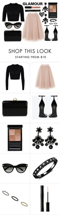 """street style"" by sisaez ❤ liked on Polyvore featuring Coast, Sergio Rossi, Yves Saint Laurent, Givenchy, By Malene Birger, Valentino, Miss Selfridge, Smashbox and Mary Kay"
