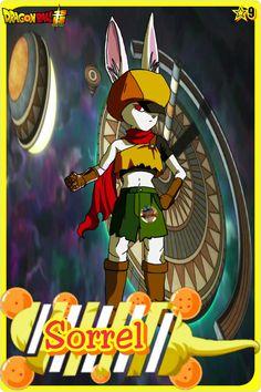 Sorrel- Team Universe 9. Dragon ball super