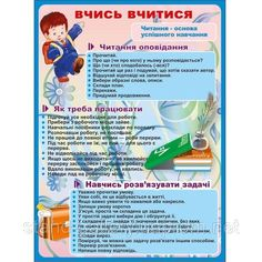 """Стенд """"Вчись вчитися"""" СШ-25 ― Стенди Learning Resources, Kids And Parenting, Diy And Crafts, Education, School, Educational Illustrations, Learning, Studying"""