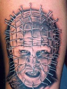 Bizarre Tattoos of Hollywood`s Legend of Horror Characters ...