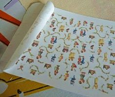 how to: make your own fabric designs to print and use in dollhouse projects
